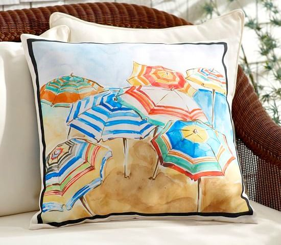 Bring the Beach to your Porch...: http://beachblissliving.com/outdoor-pillows/