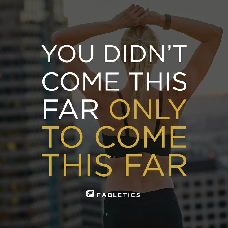 Motivation quotes & fitness inspiration | Fabletics