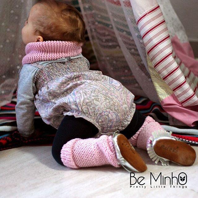 Sweet sunday! #beminho #legwarmers #kidsstyle #merino #wool #baby