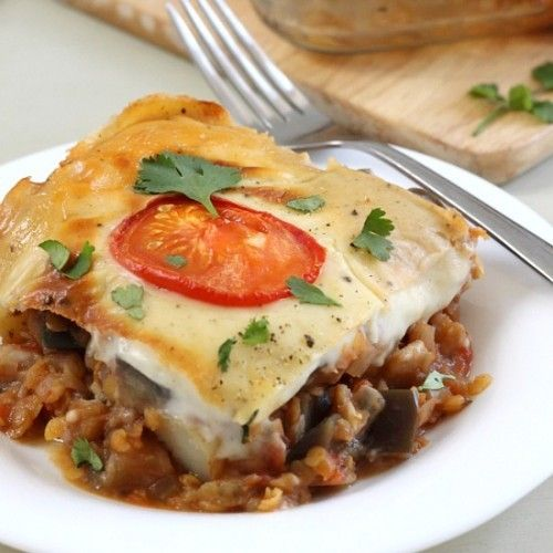 Vegetable moussaka casserole Recipe | Recipes for all occasions! | Pi ...