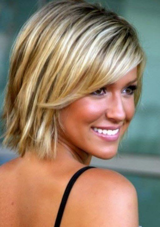 Frisuren Damen Mittellang Frisuren Pinterest Short Hair Styles
