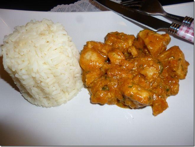 Mafé de poulet (plat africain)
