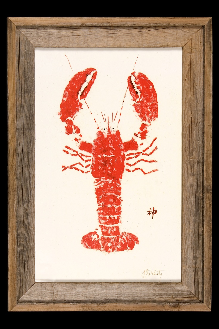 Every True Cajun Should Have A Framed Crawfish In Their Home!