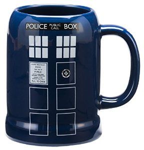 Vandor 16079 Doctor Who Ceramic Stein, 20-Ounce, Multicolored from Vandor Disc: Affiliate Link