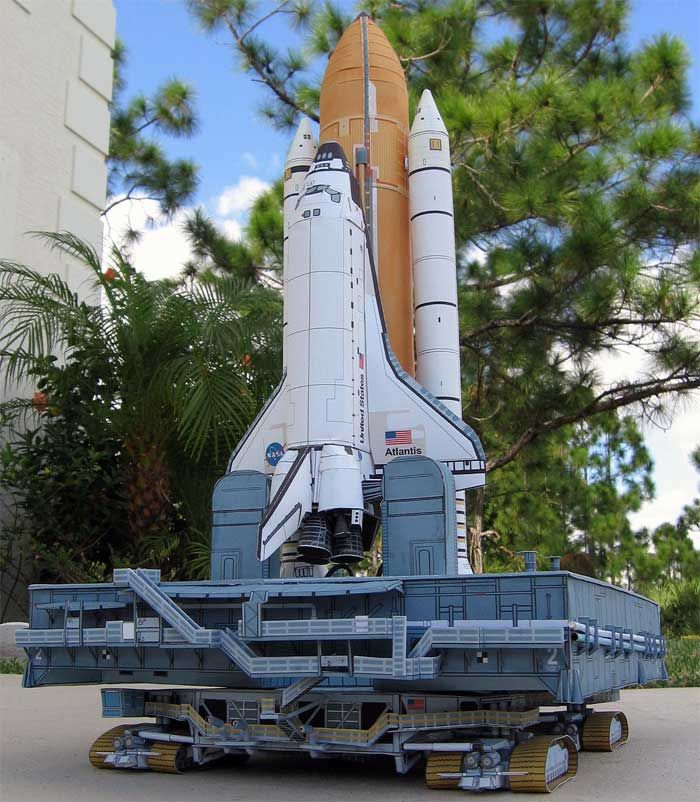 atlantis space shuttle papercraft - photo #14