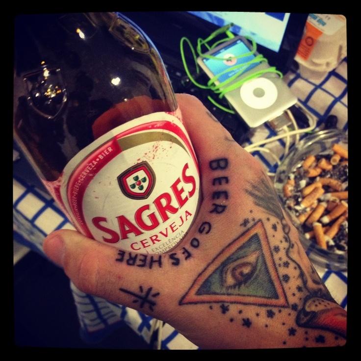 33 best beer tattoos images on pinterest hop tattoo for Ink craft tattoo
