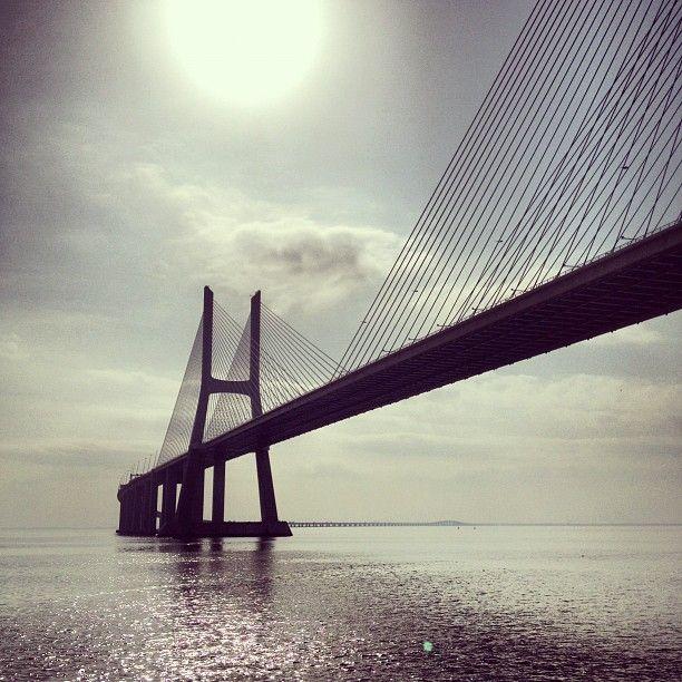 Ponte Vasco da Gama à Lisboa, Lisboa