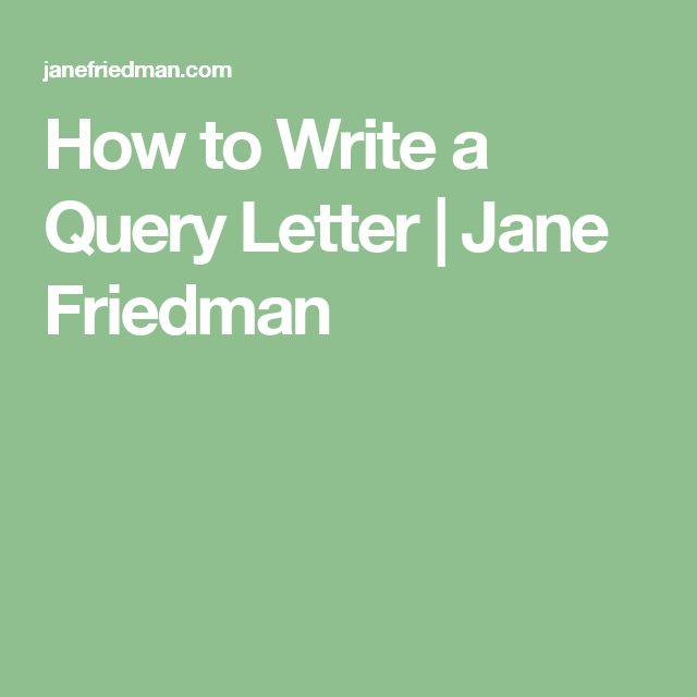 Best New Query Letters Images On   Writing Prompts
