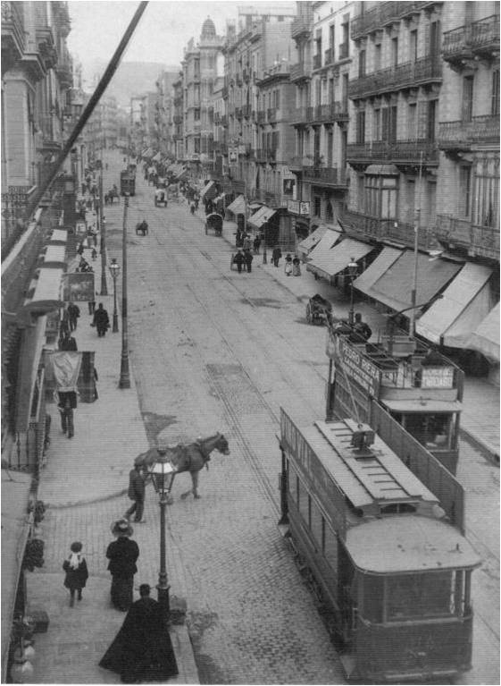 Gran de Gràcia 1915