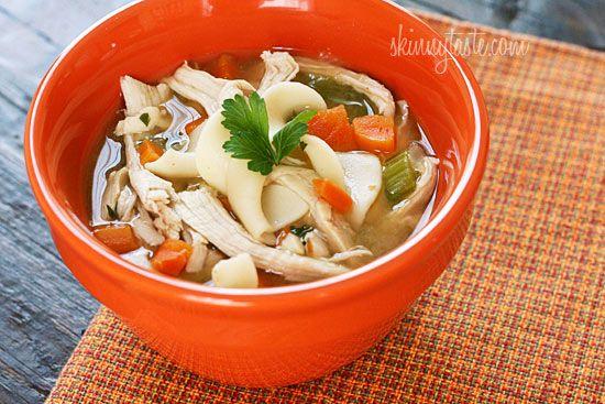 Leftover Turkey Noodle Soup #noodle g
