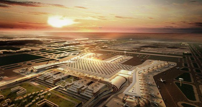 Istanbul New Airport to contribute additional $79B to Turkish economy / Istanbul New Airport, with an investment worth 10.2 billion euros, will contribute an additional $79 billion to the local economy while jobs and serving 200 million passengers annually once fully operational