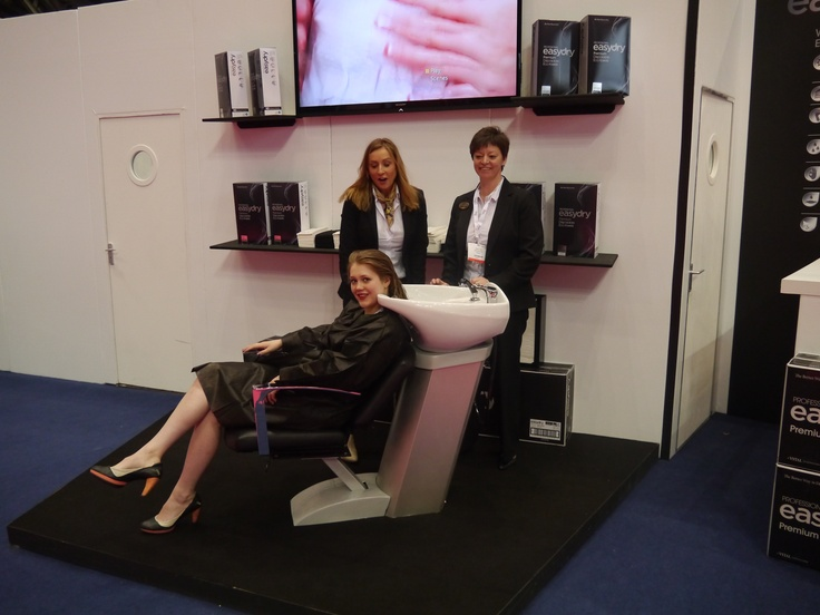 Professional Hairdresser Live 2013 - meet the Easydry team. www.easydry.com #prohairlive