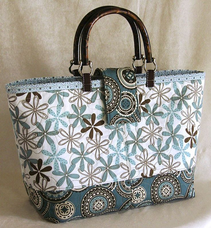 Free Purse Patterns to Sewing | Lazy Girl Designs 123 - Miranda Day Bag