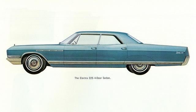 1966 Buick Electra 225 4 Door Sedan Buick Electra Buick Electra 225