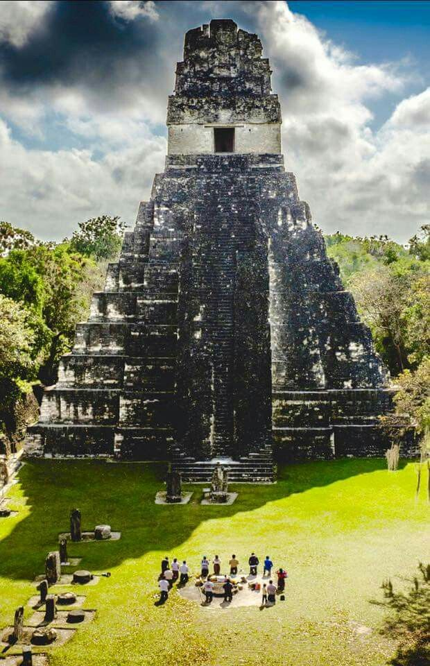 Maya temple. Guatemala.  Stay in Central Amercia with 1BB's collection of affordable accommodation here: www.1bb.com