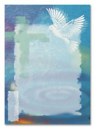 Background For Invitations For Boys | Adult Baptism Bulk Baptism Invitations