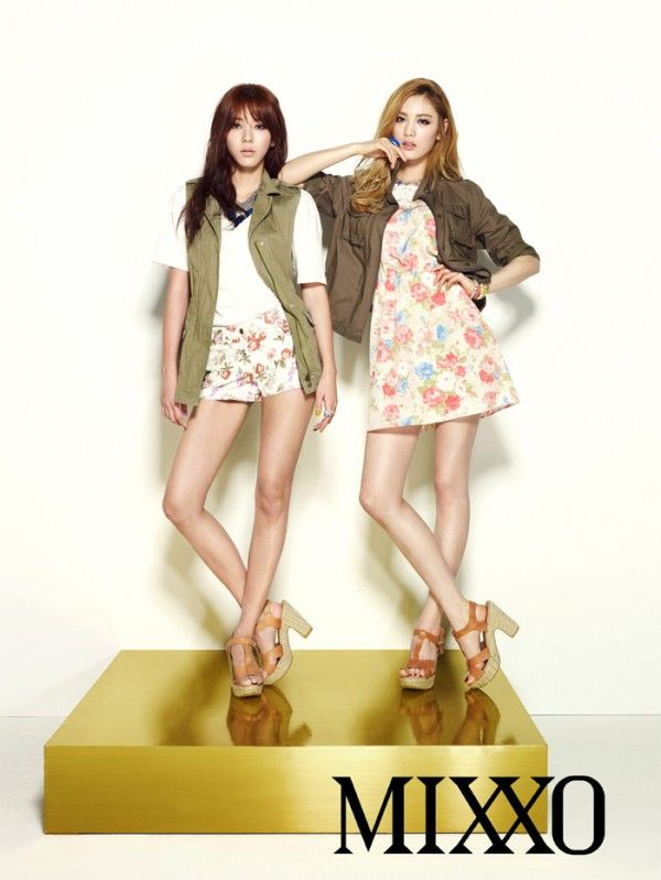 After School's Nana and Son Dam Bi looking fabulous
