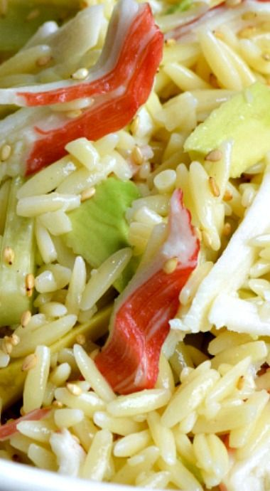 California Roll Pasta Salad
