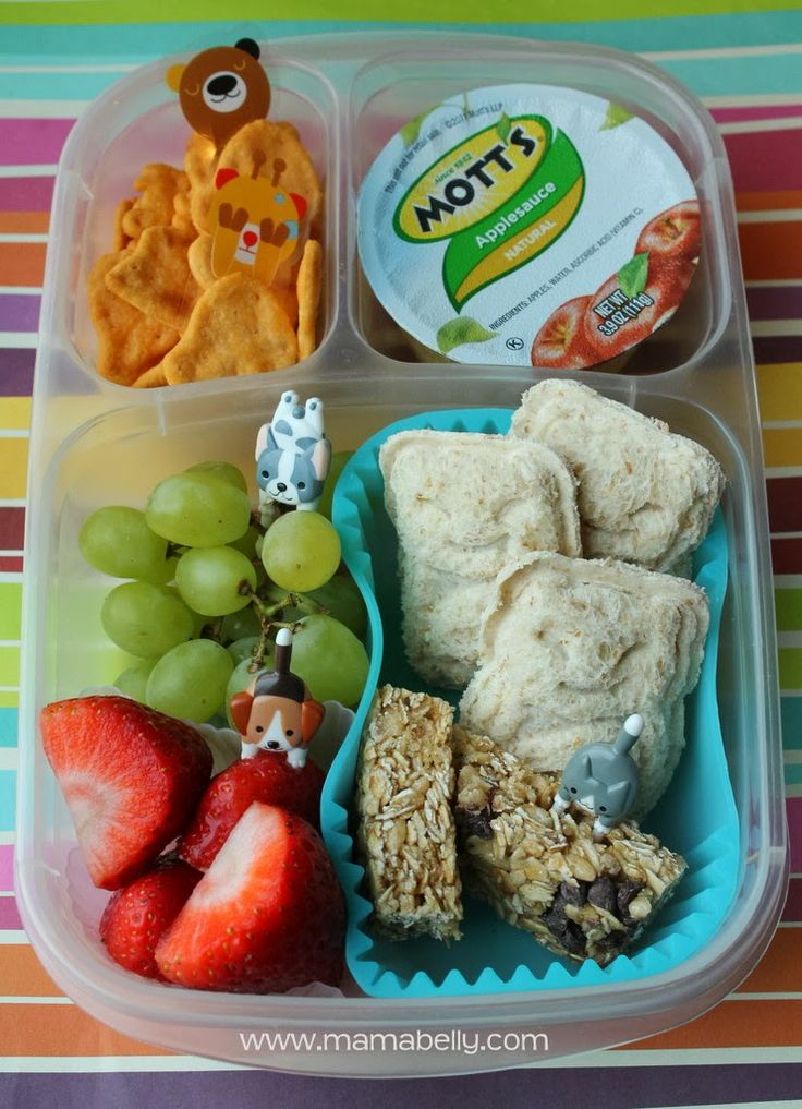 One week of school lunch ideas - mamabelly.com | with @EasyLunchboxes containers