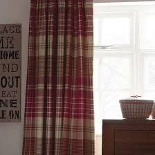 Rustic brown plaid bedroom curtain ideas - Google Search