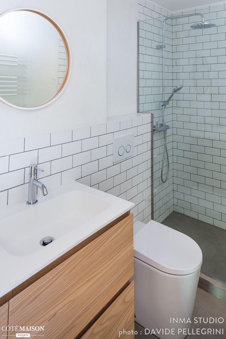 du remodelage de la salle de bains demies salles de bain et - Integrer Machine A Laver Dans Salle De Bain