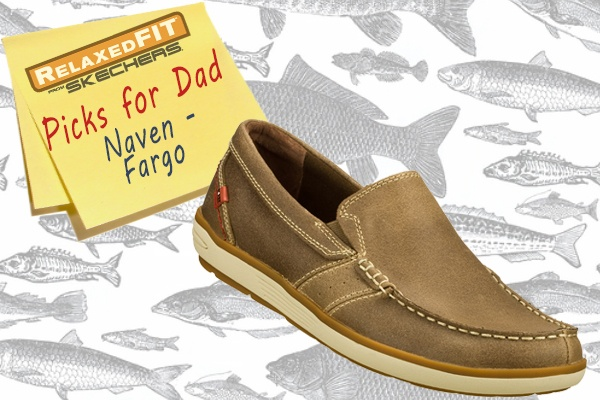 For the dad that loves comfort: Deck your feet out in style and comfort with the SKECHERS Relaxed Fit: Naven - Fargo shoe. SKECHERS.comSkecherscom