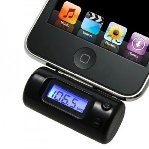 FM transmitter cu telecomanda iPhone / iPad / iPod