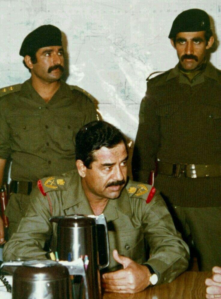 صدام حسين ، عبد حمود ، حسين كامل   Saddam hussein, Supreme iphone  wallpaper, Iraqi army