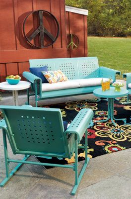 Retro Outdoor Furniture Collection.