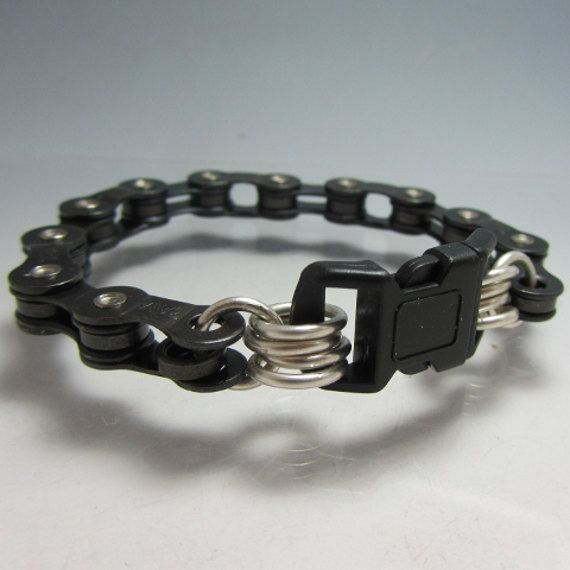 Hey, I found this really awesome Etsy listing at https://www.etsy.com/listing/127475626/bicycle-chain-bracelet-with-buckle