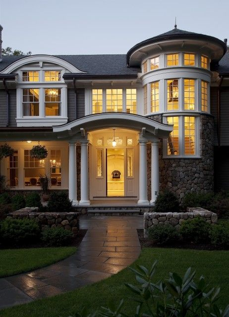 house: Ideas, Dreams Home, Houseexterior, Exterior Design, Future House, Dreams House, Curb Appeal, Windows, House Exterior