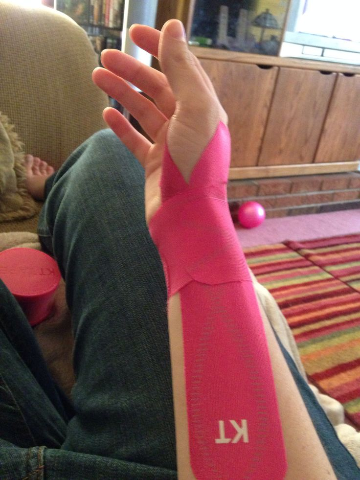 Kt tape adapted wrist application   Workout   Kinesiology ...