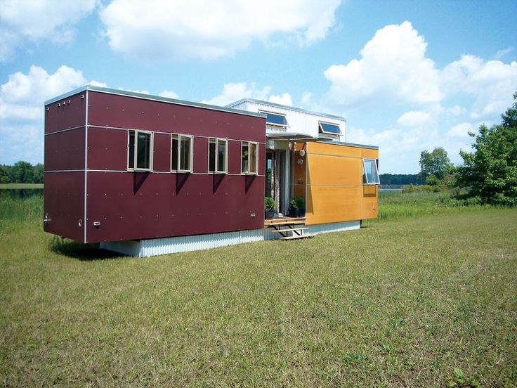 Andy Thomsons MiniHome Takes Cues From The Trailer Park Its Mobile But Pushes A New Aesthetic And Uses Sustainable Building Practices Materials