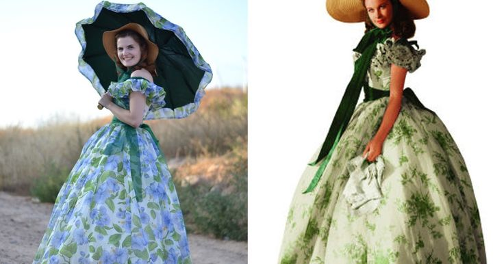 Scarlett O'Hara Barbecue Dress |pauline alice - Sewing patterns, tutorials…