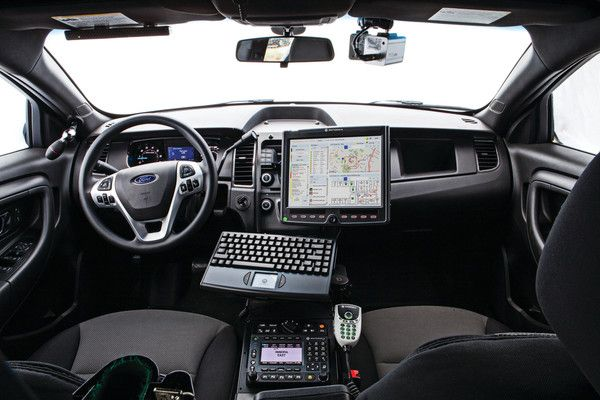 Seven X Motors >> Ford Police car interior | Police cars, Ford police, Police