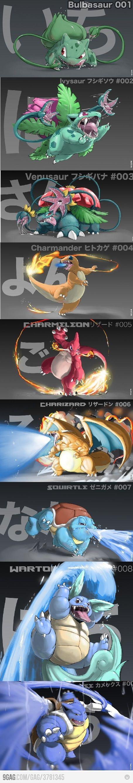 Pokemon, como nunca los has visto antes