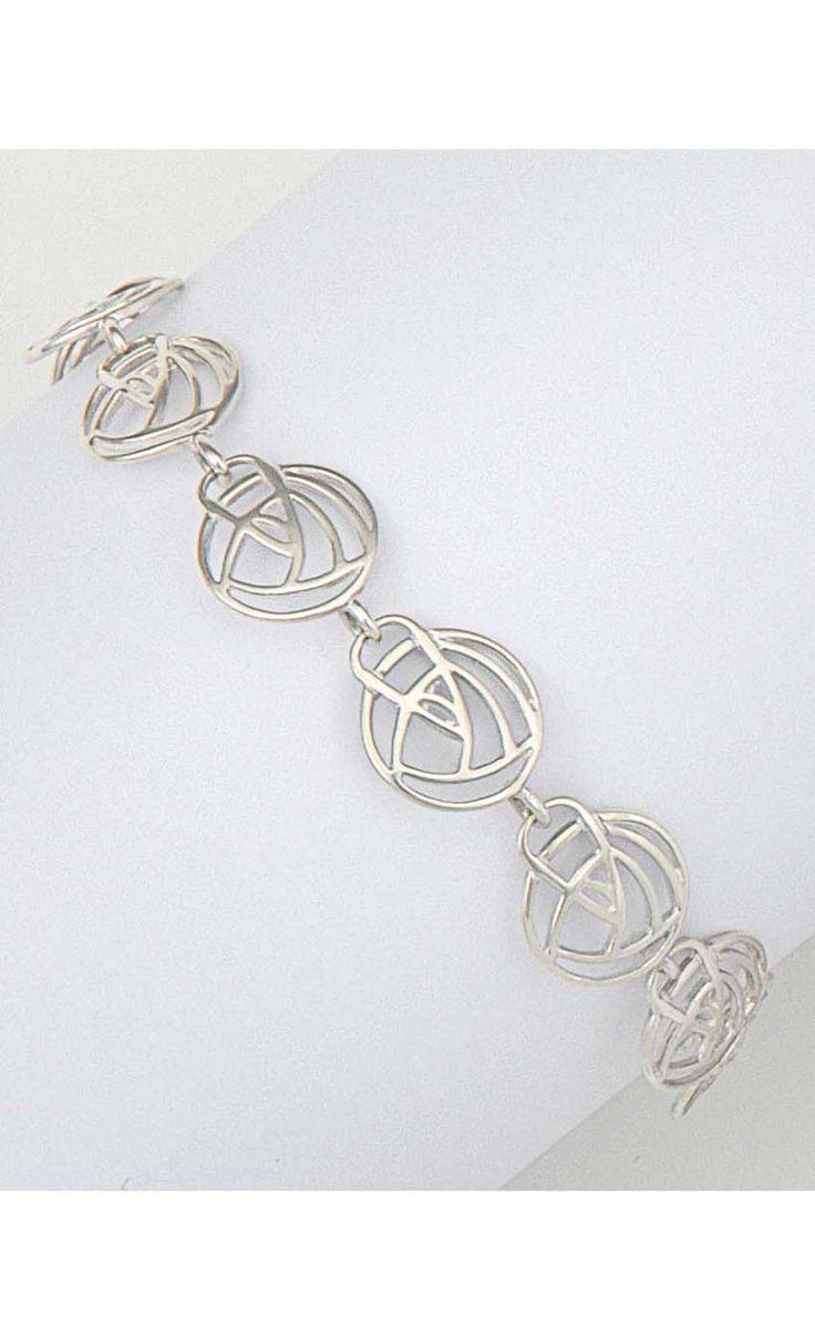 Charles Rennie Mackintosh Bracelet - BL242 by Scotweb Tartan Mill