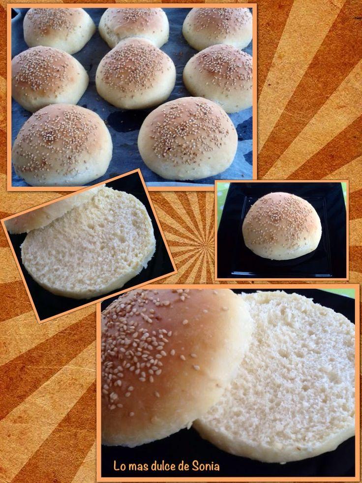 INGREDIENTES:  (8 panecillos de 100 gr.)   500 gr de harina de fuerza  10 gr de levadura fresca o 4,6 de levadura seca de panadería  1...