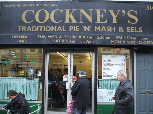 London Living: Pie and Mash Shop via Inside the Games