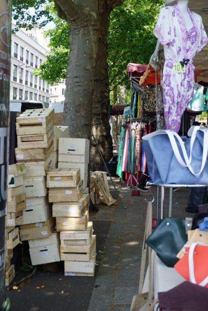 bastille market in paris france
