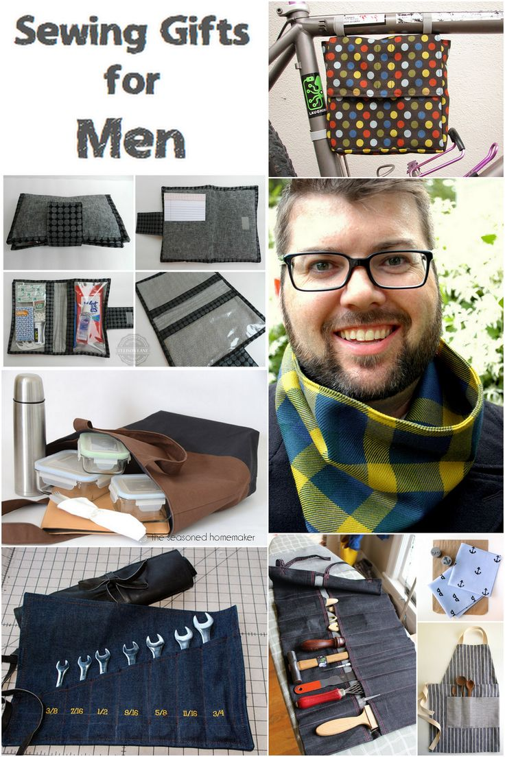 Sewing Gifts for Men - Looking for something to sew for a man? 8 ideas for you to sew up for the man in your life this Christmas (or anytime!)