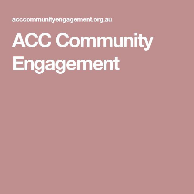 ACC Community Engagement