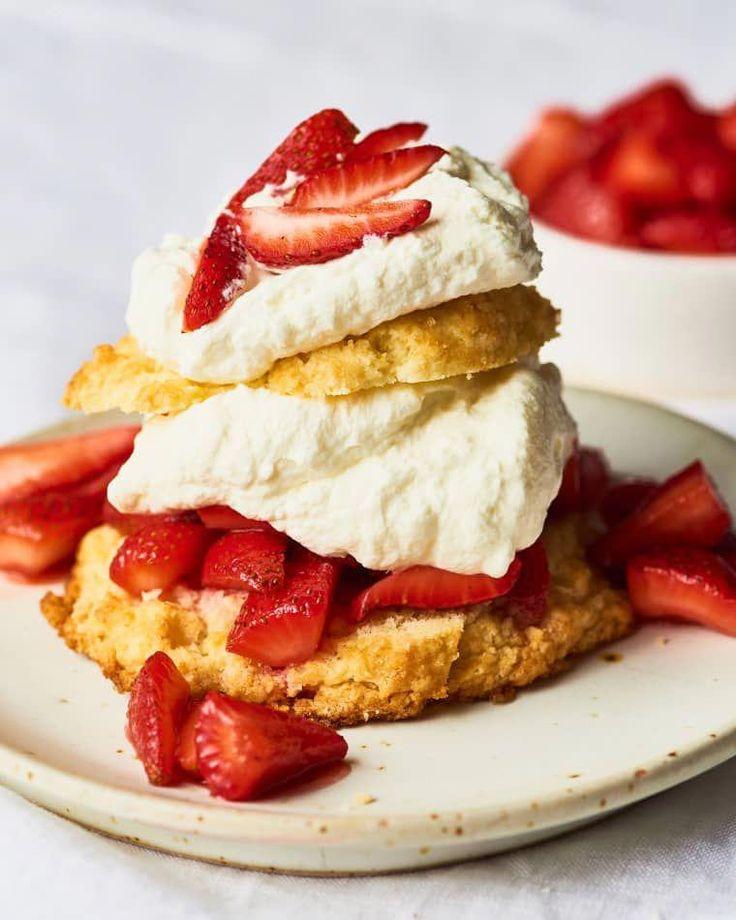 Erdbeer-Shortcake zubereiten