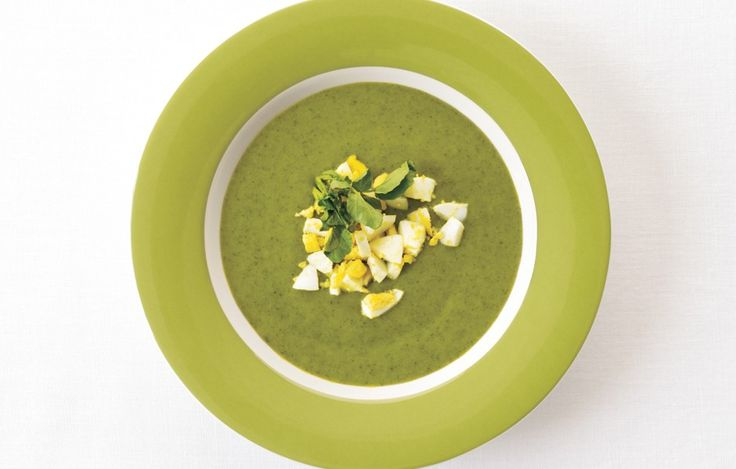 Chilled Watercress-Spinach Soup | Recipe