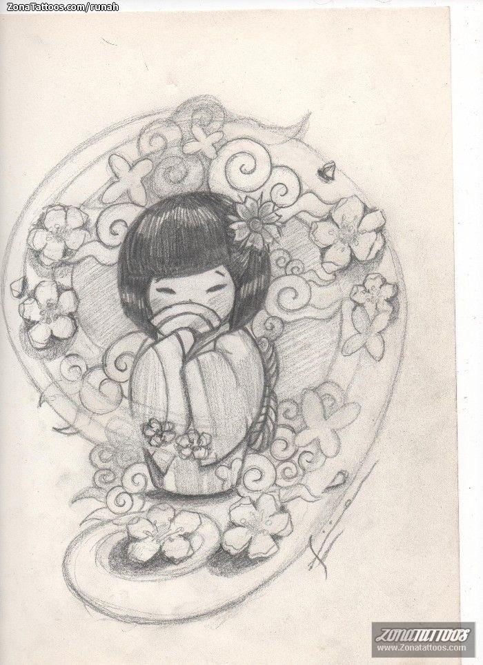 plantilla-tatuaje-kokeshi-15805_a.jpg (700×964)