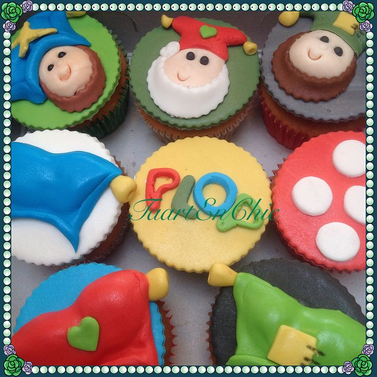 Cupcakes kabouter plop