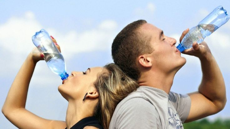 Drinking water does NOT cause water retention! Check out these remedies.