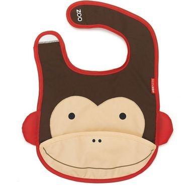 Baberos de Skip Hop: baberos divertidos y originales. Babero que se dobla para guardarse en su propia funda incorporada. De tamaño ideal para niños de 6 meses a 3 años... http://www.mibabyclub.com/tienda/alimentacion-del-bebe/vajillas-infantiles/babero-skip-hop-monkey.html