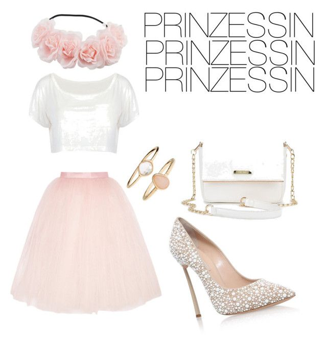 """""""Prinzessin"""" by flobetty on Polyvore featuring Mode, Ballet Beautiful, Casadei und Accessorize"""