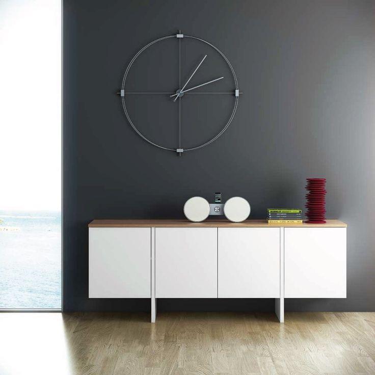 Buffet design blanc Sade